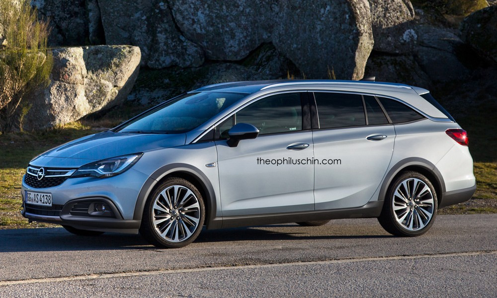 Opel Astra Country Tourer Rendered to Battle the Golf ...