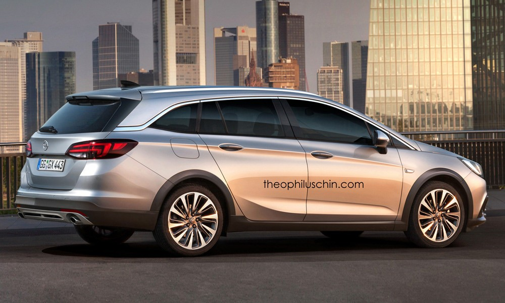 Opel Astra Country Tourer Rendered To Battle The Golf