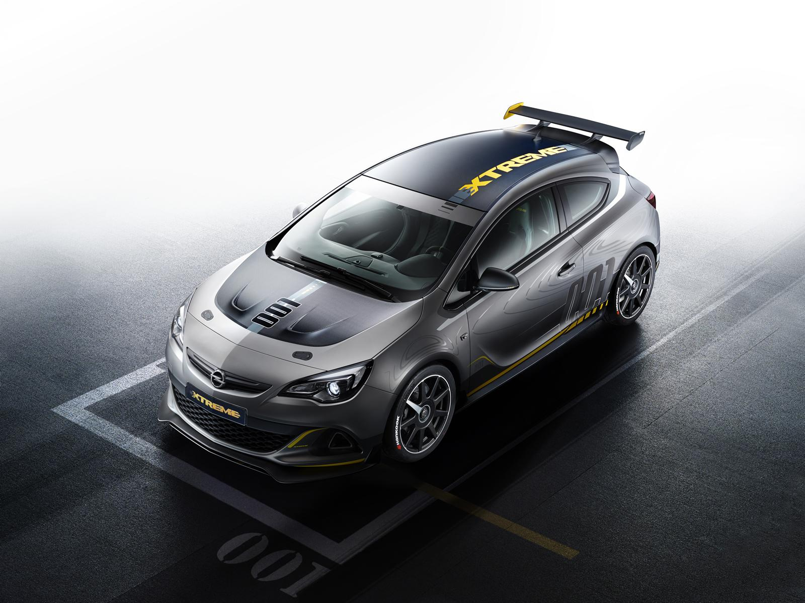 opel astra opc extreme 300 hp hot hatch with carbon fiber autoevolution. Black Bedroom Furniture Sets. Home Design Ideas