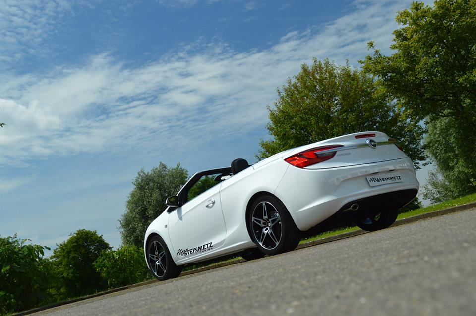 opel cascada gets custom wheels from steinmetz. Black Bedroom Furniture Sets. Home Design Ideas