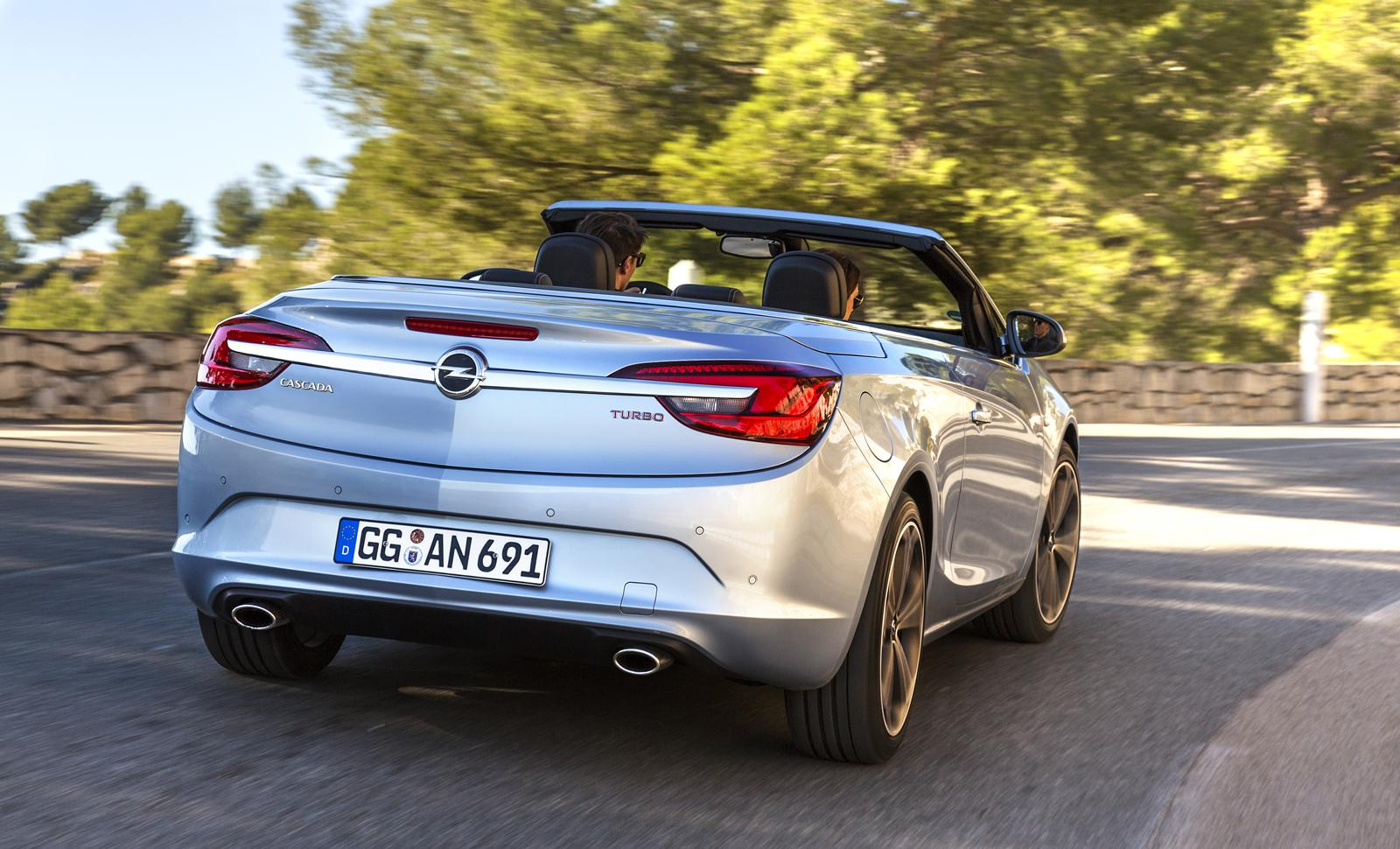 opel cascada turbo sales debut priced at eur29 490. Black Bedroom Furniture Sets. Home Design Ideas