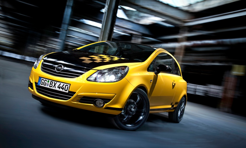 opel corsa color race edition unveiled autoevolution. Black Bedroom Furniture Sets. Home Design Ideas