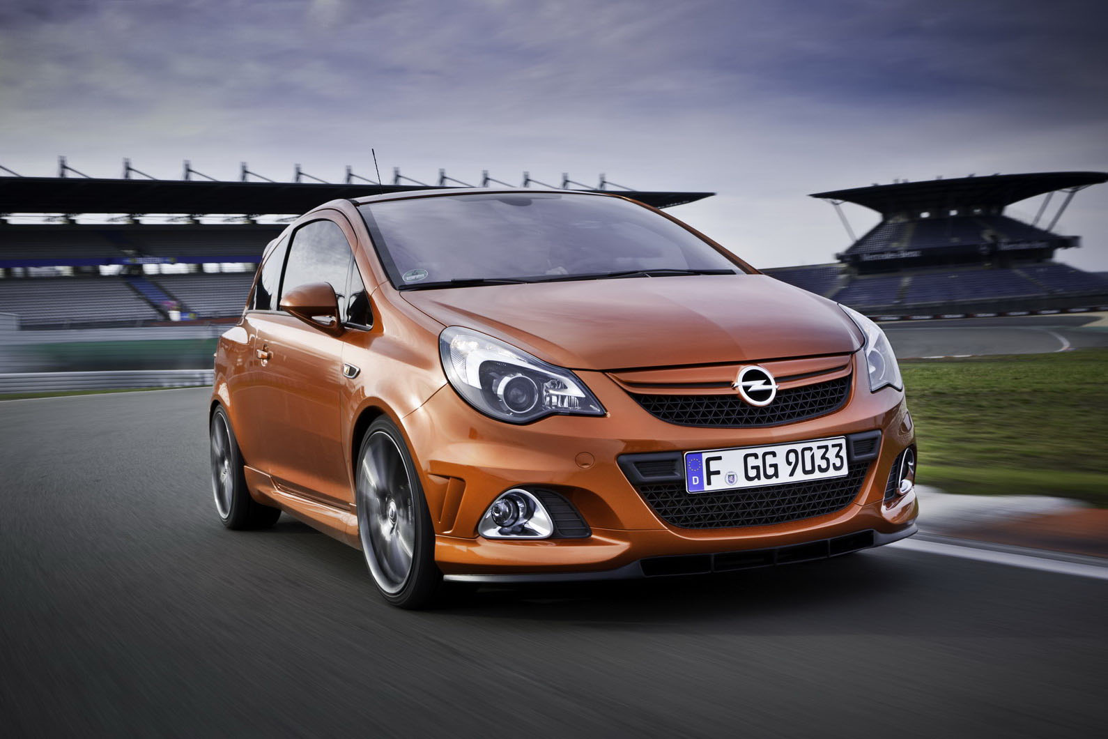 opel corsa opc nurburgring edition comes home for big. Black Bedroom Furniture Sets. Home Design Ideas