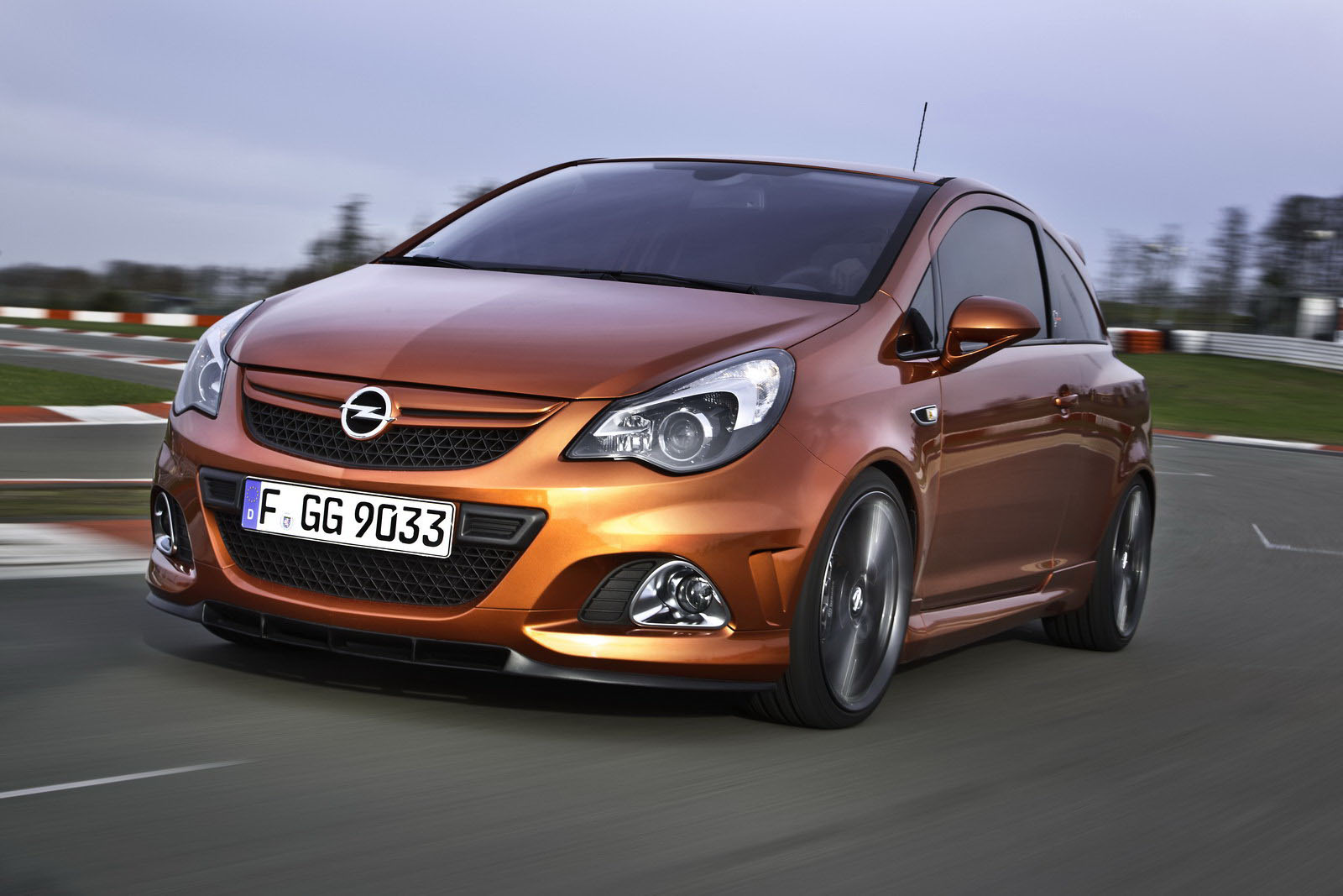 Opel Corsa OPC Nurburgring Edition Comes Home For Big Photoshoot