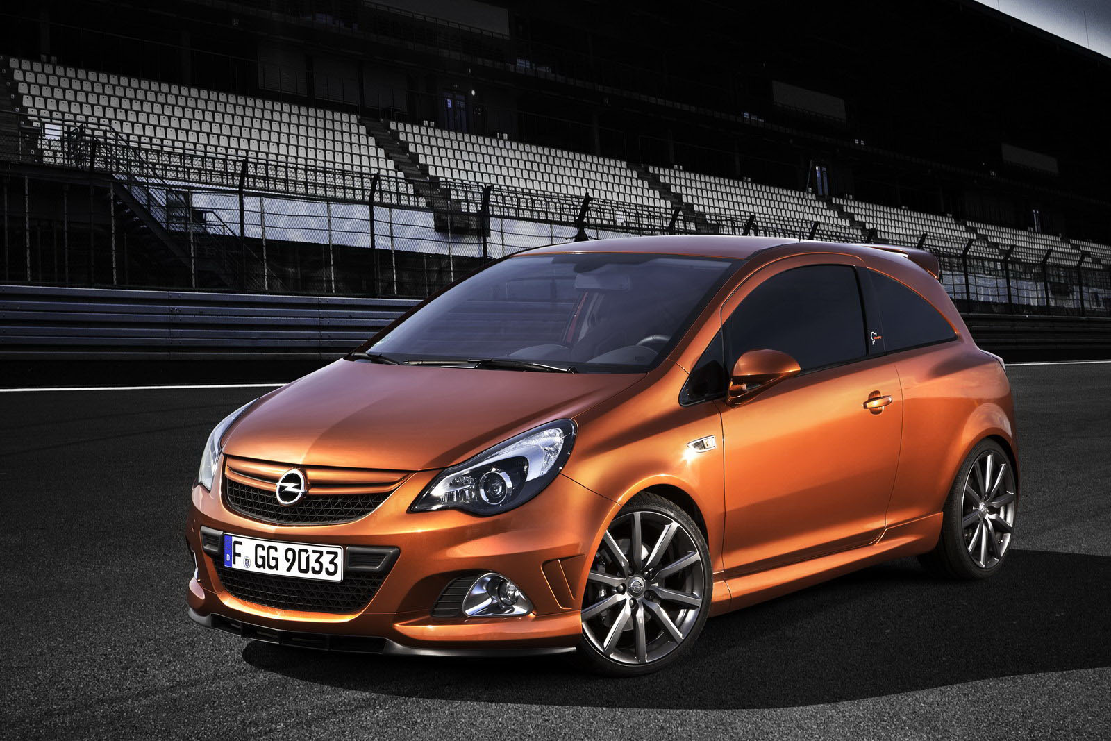 opel corsa opc nurburgring edition comes home for big photoshoot autoevolution. Black Bedroom Furniture Sets. Home Design Ideas