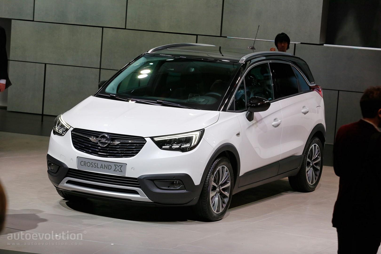 Opel Crossland X Is Now A Peugeot In Geneva Autoevolution