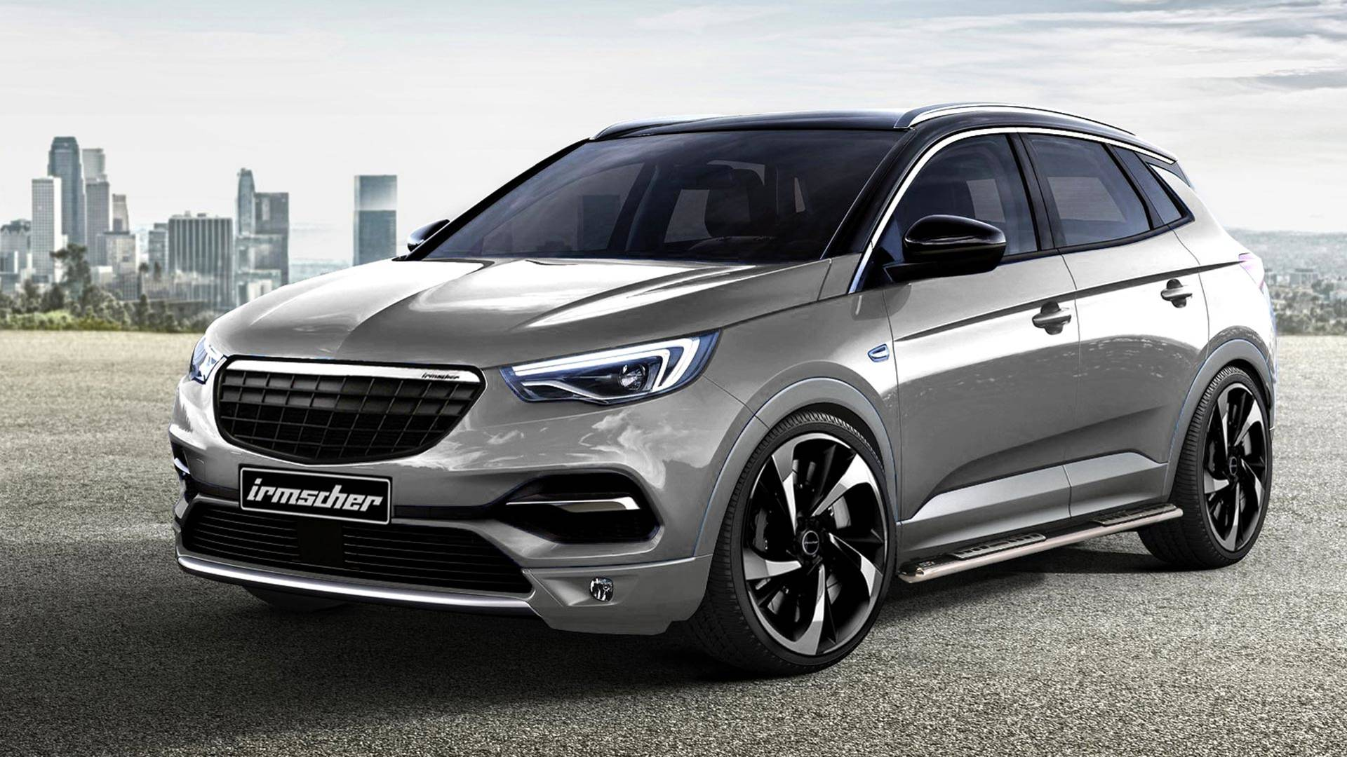 2018 Opel Grandland X Gets The Tuning Treatment From