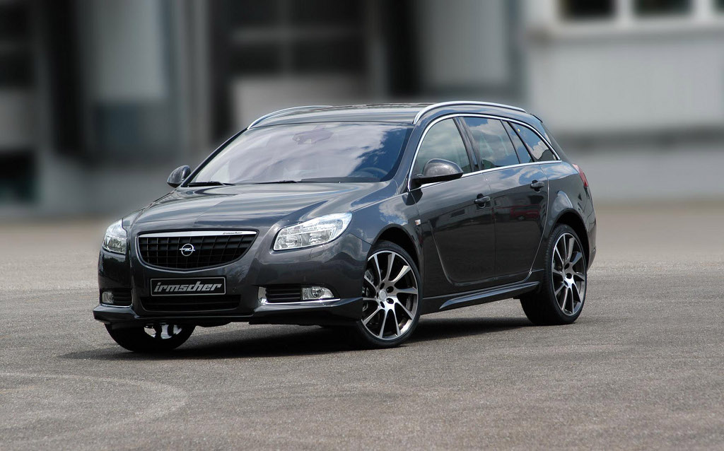opel insignia sports tourer refined by irmscher. Black Bedroom Furniture Sets. Home Design Ideas