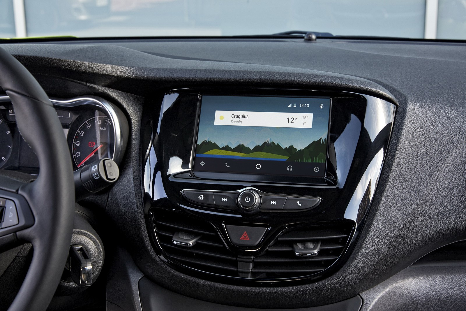 opel karl gets onstar and intellilink technology android auto and apple carplay also available. Black Bedroom Furniture Sets. Home Design Ideas