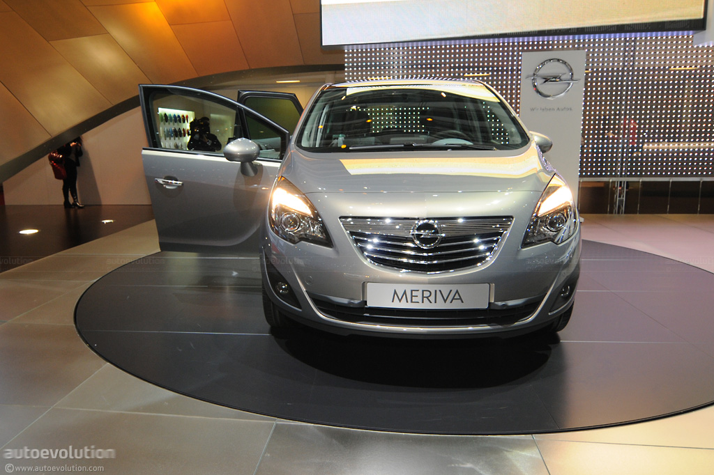 2010 geneva auto show opel meriva live photos autoevolution. Black Bedroom Furniture Sets. Home Design Ideas