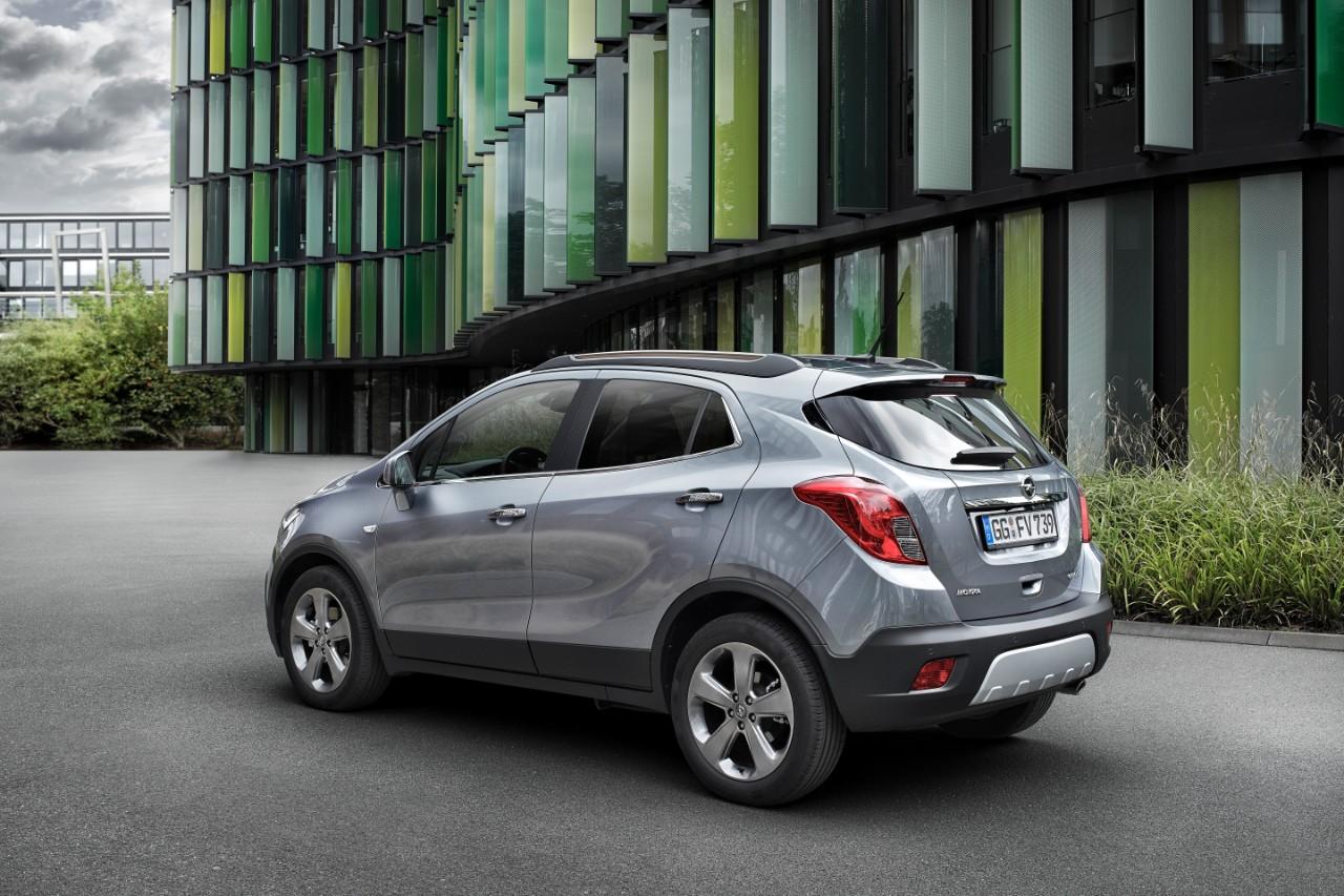 Opel Mokka 1 6 Cdti Replaces 1 7l Turbo Diesel