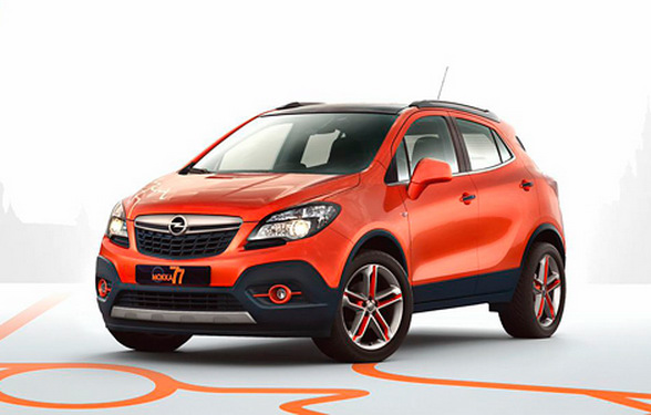 opel mokka moscow edition is a clockwork orange sort of autoevolution. Black Bedroom Furniture Sets. Home Design Ideas