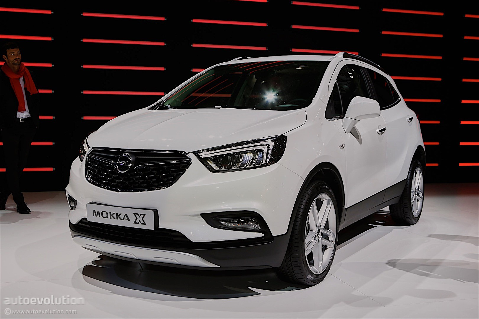 2016 opel mokka x shows off in geneva autoevolution. Black Bedroom Furniture Sets. Home Design Ideas