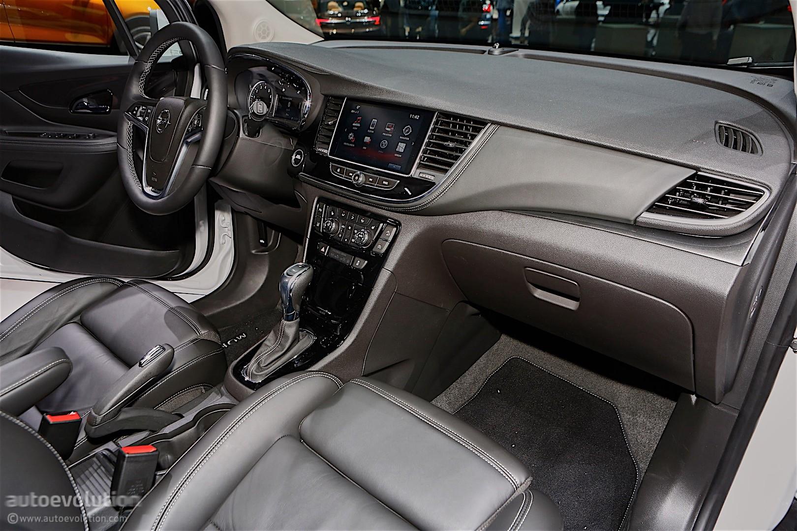 2016 opel mokka x shows off in geneva autoevolution for Opel mokka x interieur
