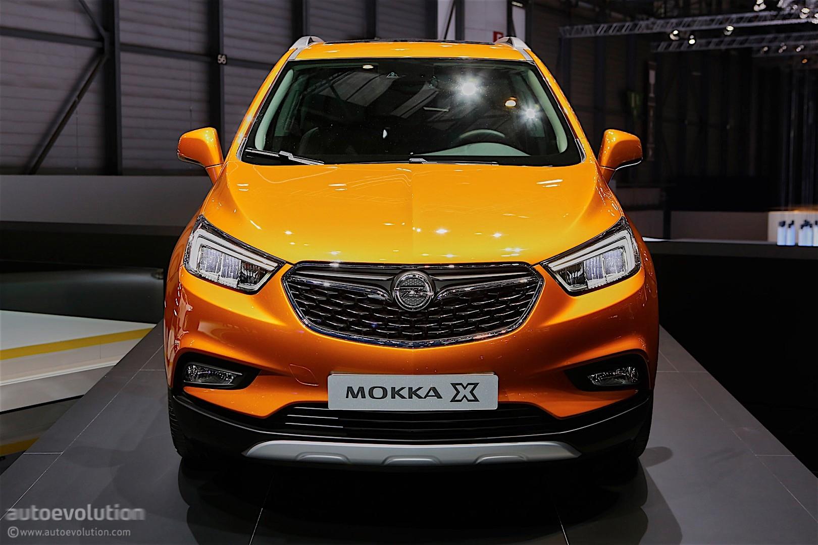 2016 Opel Mokka X Shows Off In Geneva Autoevolution