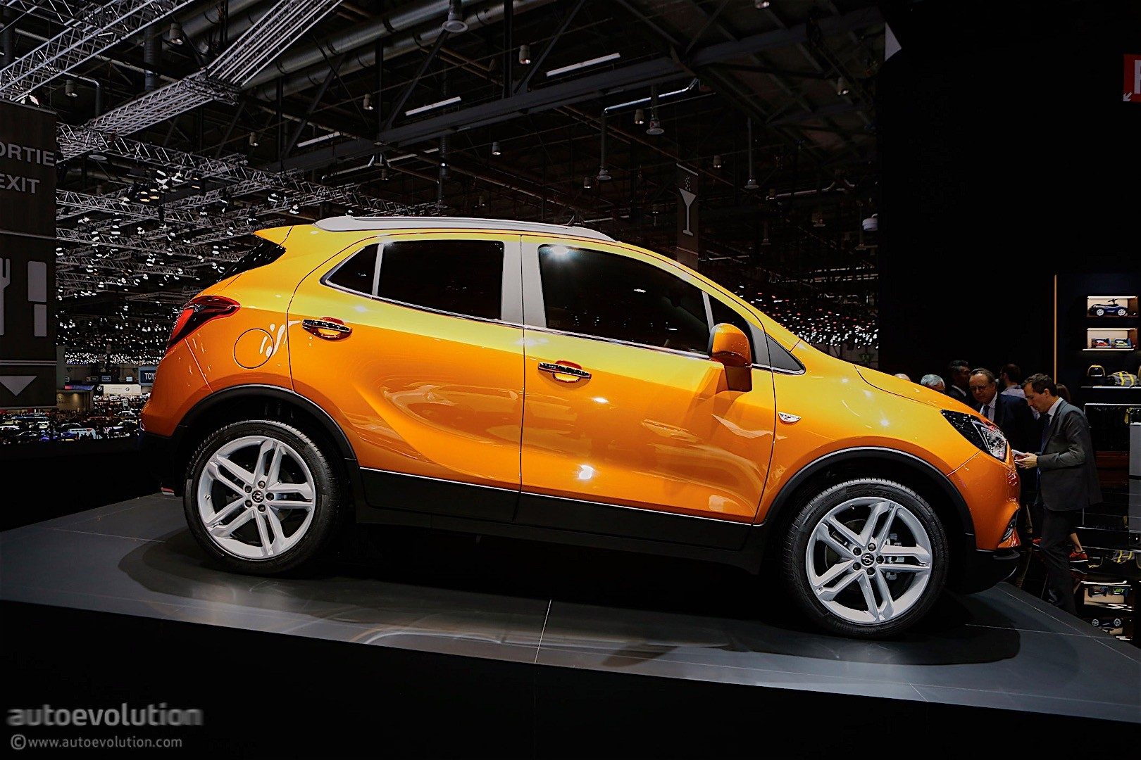 2016 Opel Mokka X Shows Off In Geneva Autoevolution