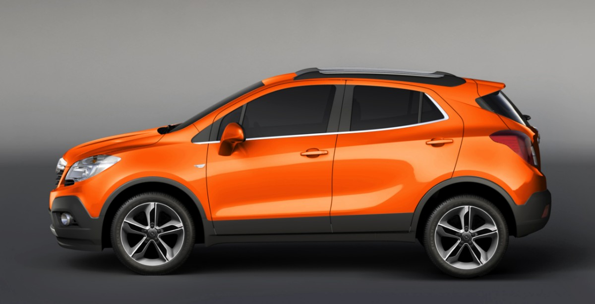 Opel Registers 100 000 Orders For Mokka Across Europe
