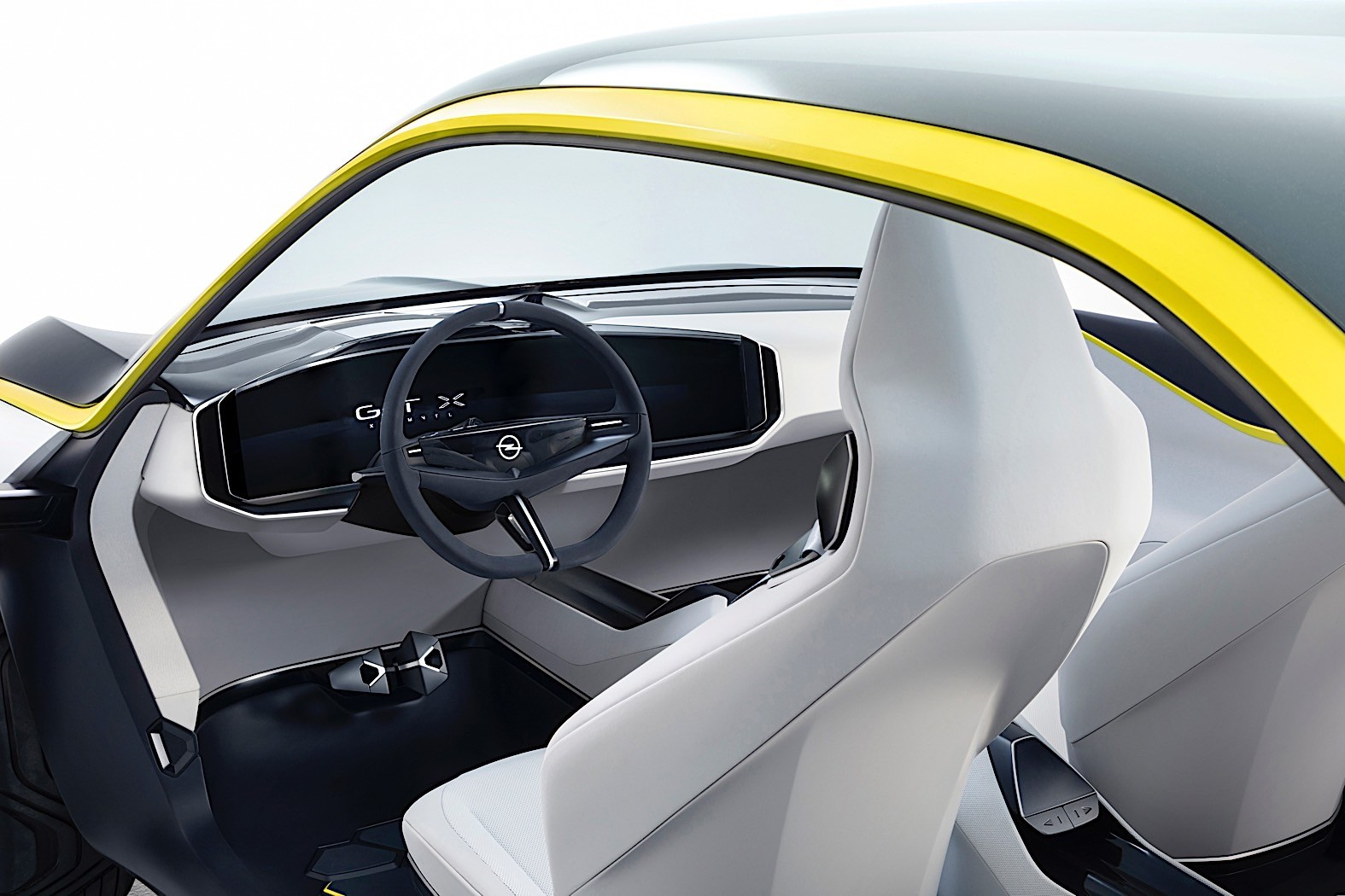 opel to use gt x experimental compass and vizor design on future electric cars autoevolution. Black Bedroom Furniture Sets. Home Design Ideas