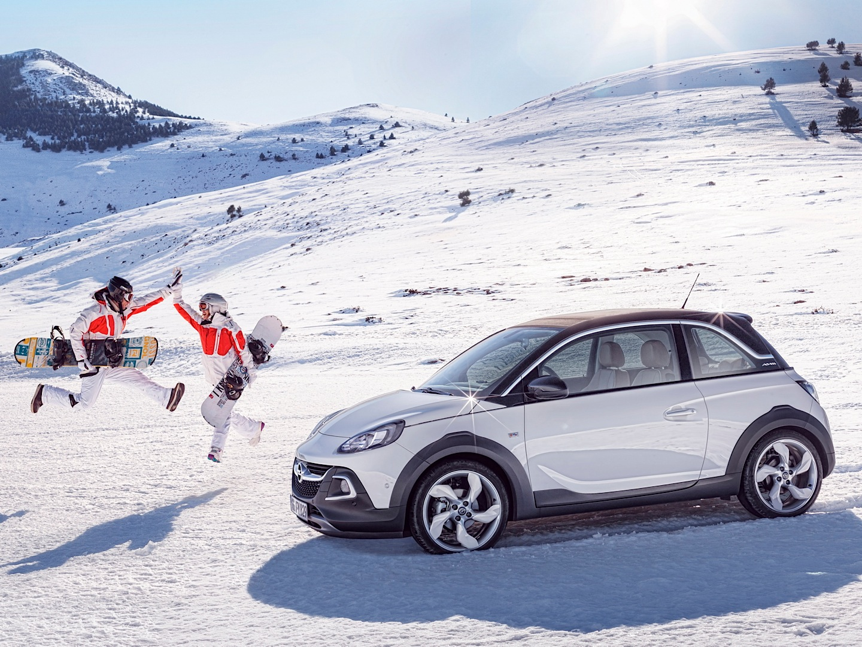 Opel / Vauxhall Adam Rocks Rolls into Geneva - autoevolution