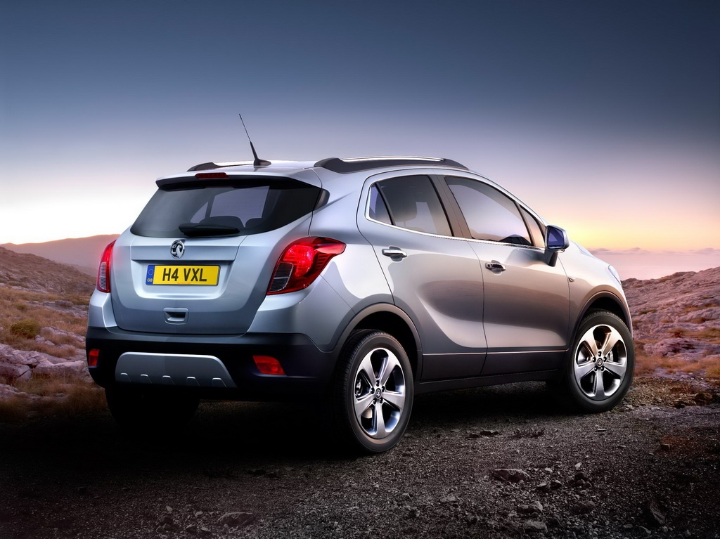 Opel Vauxhall Mokka Crossover Revealed Autoevolution