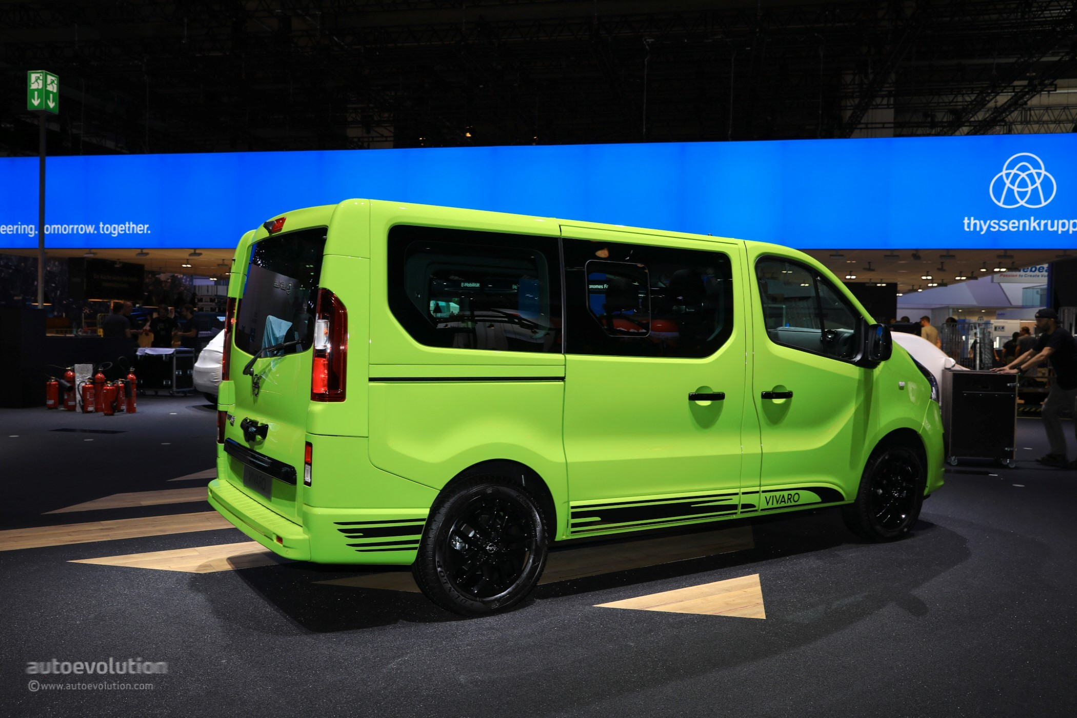 opel vivaro life makes camper vans look cool in frankfurt