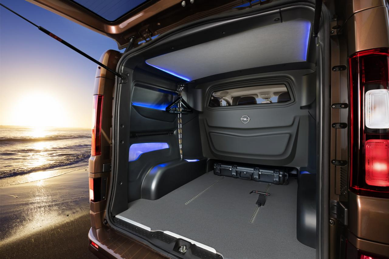 Opel Vivaro Surf Concept Is Coming To Frankfurt Could