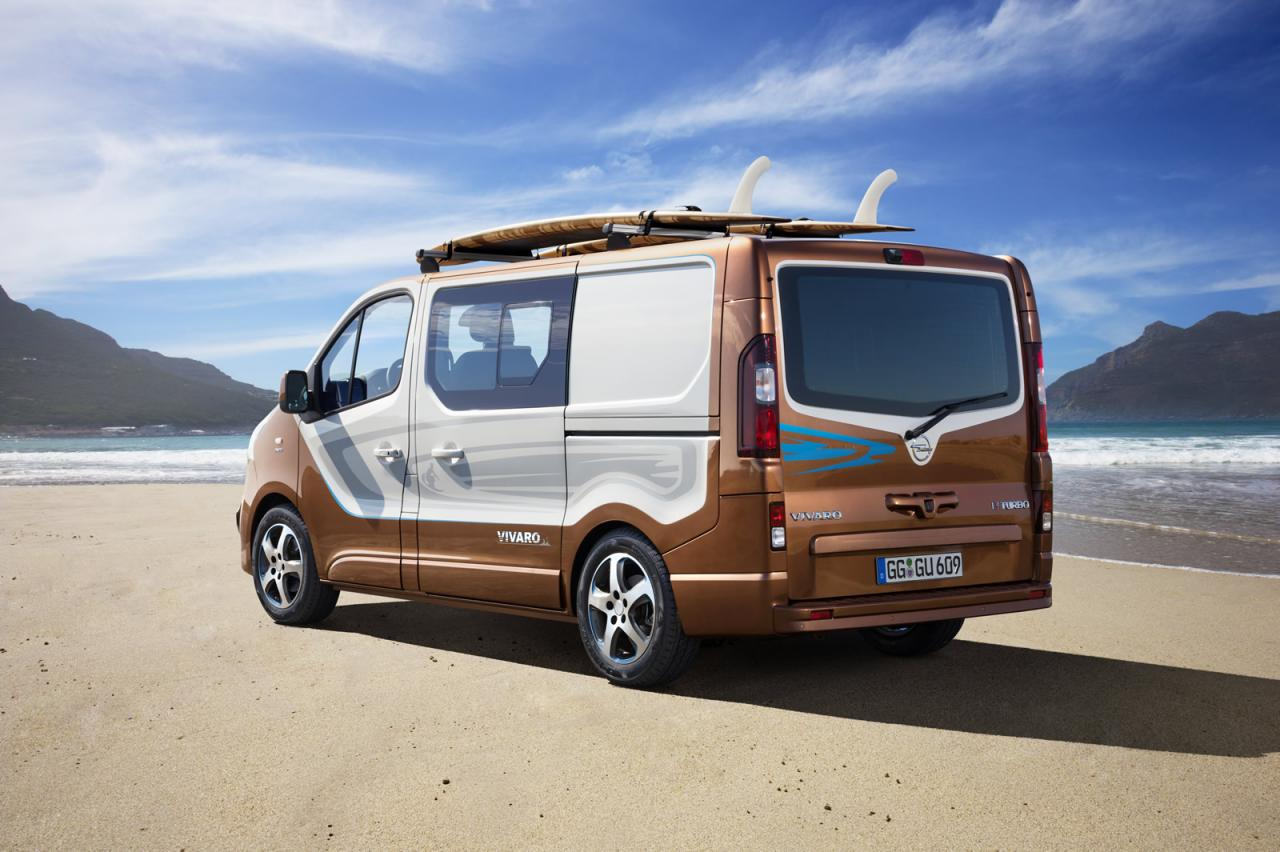 opel vivaro surf concept is coming to frankfurt could turn into a limited edition autoevolution. Black Bedroom Furniture Sets. Home Design Ideas