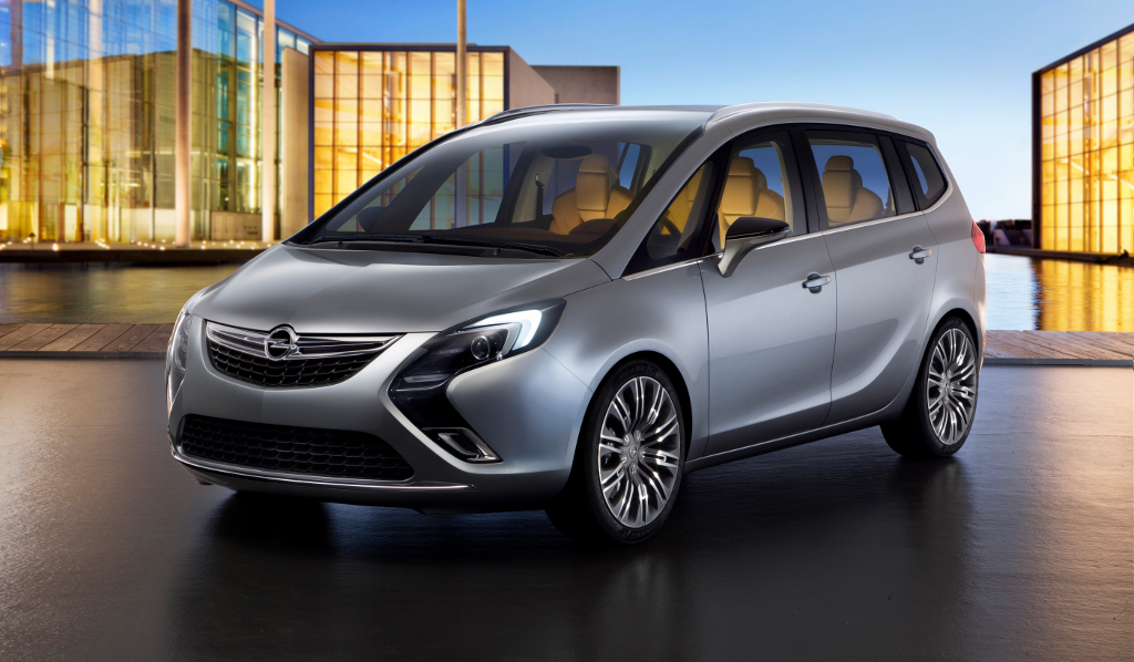 opel zafira tourer concept details and photos autoevolution. Black Bedroom Furniture Sets. Home Design Ideas