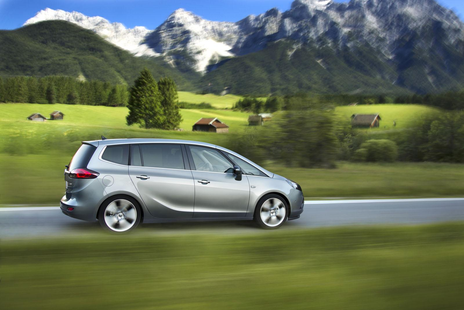 opel zafira tourer gets economical new 1 6 cdti with 120 hp autoevolution. Black Bedroom Furniture Sets. Home Design Ideas
