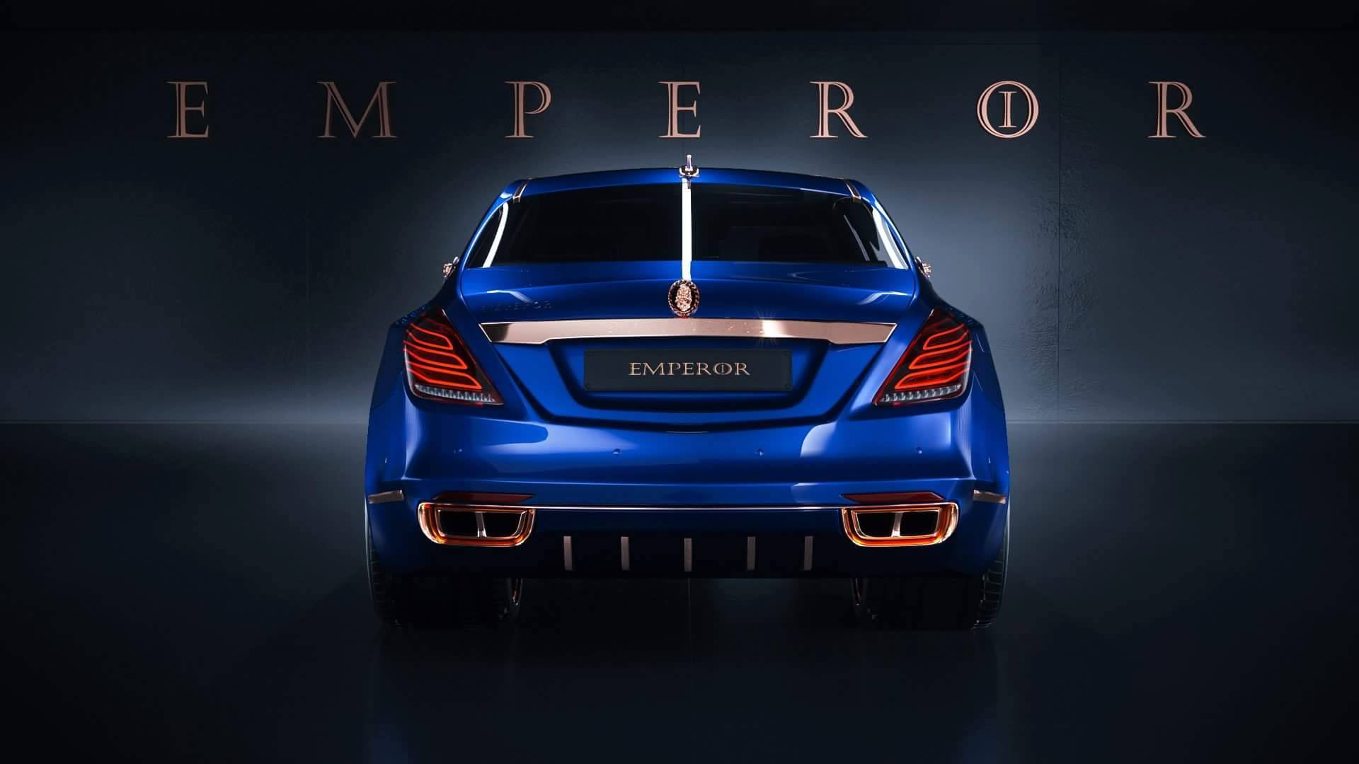 Opulence Galore: Scaldarsi Emperor I Mercedes-Maybach S600 ...