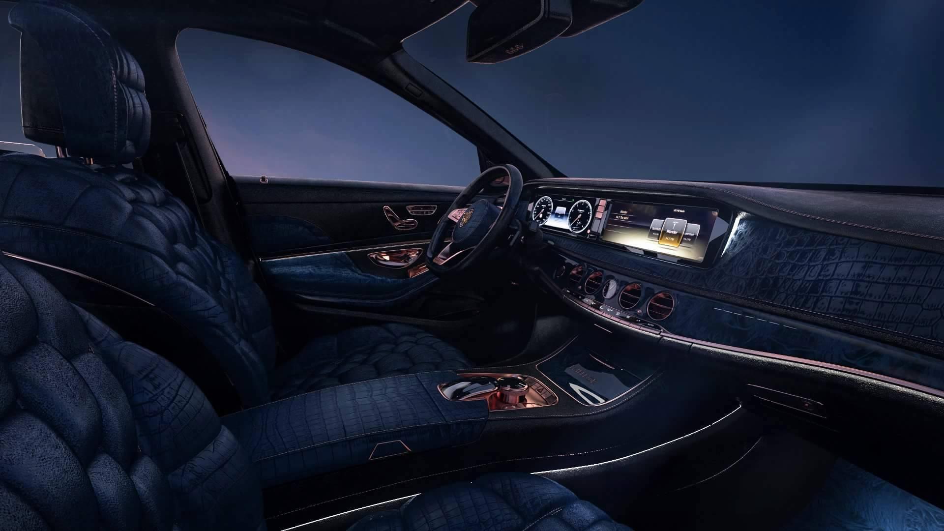 Opulence Galore: Scaldarsi Emperor I Mercedes-Maybach S600 ...