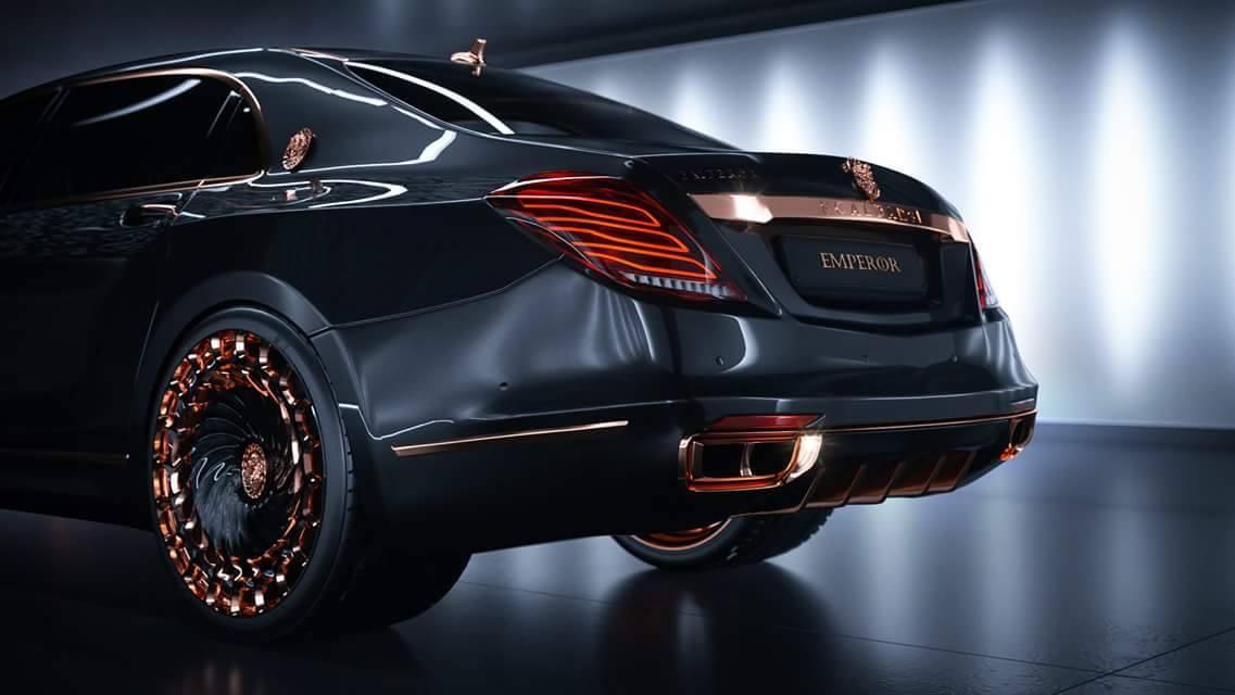 Mercedes Benz Quebec >> Opulence Galore: Scaldarsi Emperor I Mercedes-Maybach S600 ...