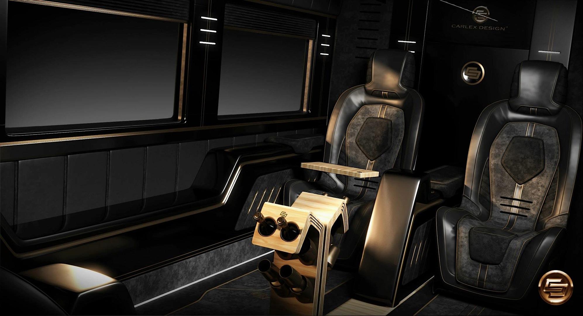 Mercedes Camper Van >> Opulent Mercedes-Benz Sprinter by Carlex Design [Photo Gallery] - autoevolution
