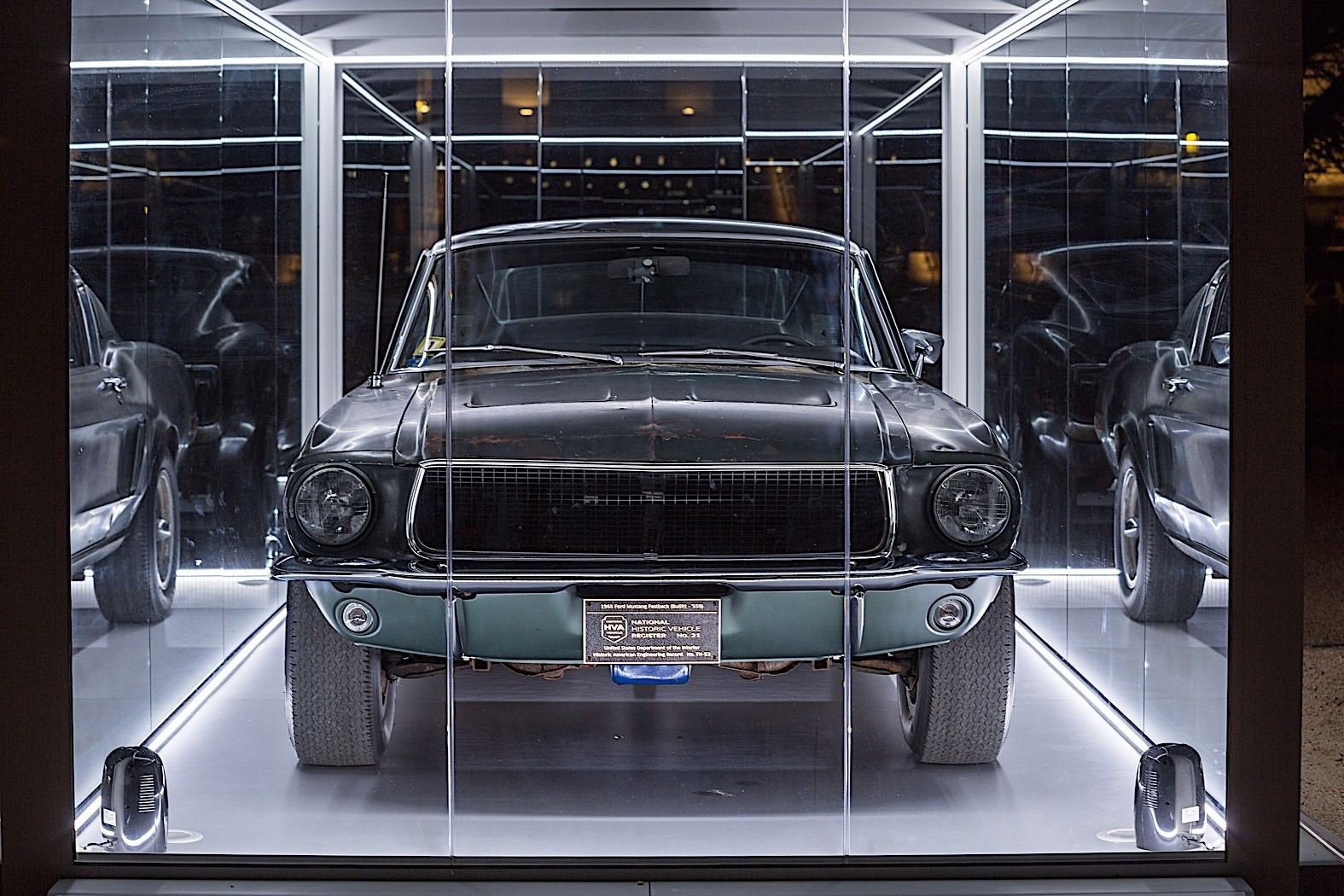 Original 1968 Bullitt Mustang to Be Shown in Washington ...