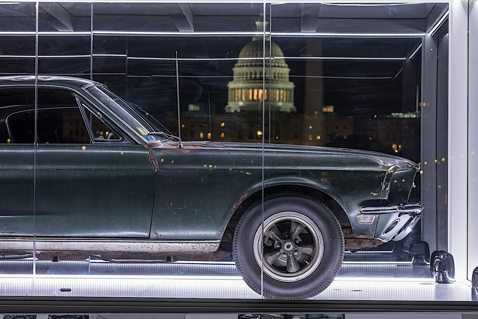 Original 1968 Bullitt Mustang to Be Shown in Washington - autoevolution