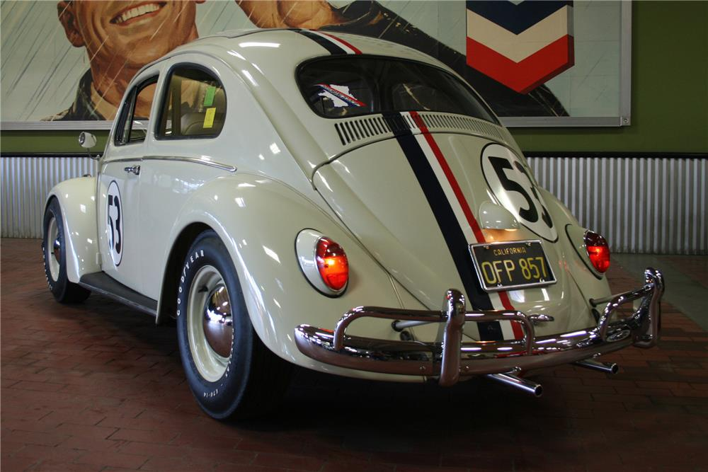Original Herbie Love Bug is Heading to Auction at No ...