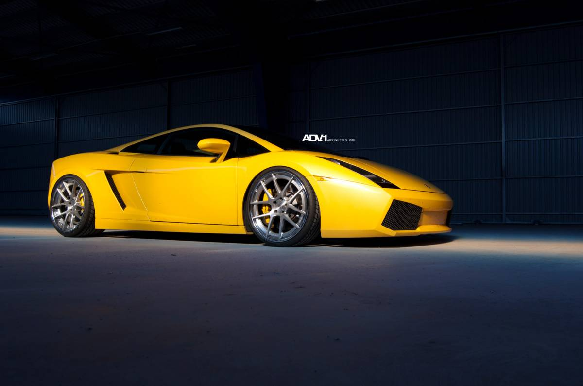 Original Lamborghini Gallardo On Adv 1 Wheels Autoevolution