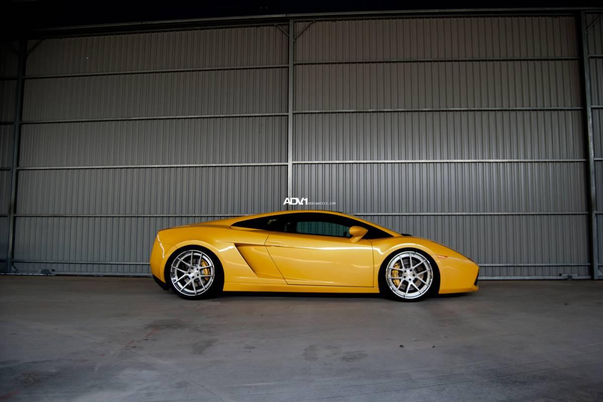 Original Lamborghini Gallardo On Adv 1 Wheels Autoevolution