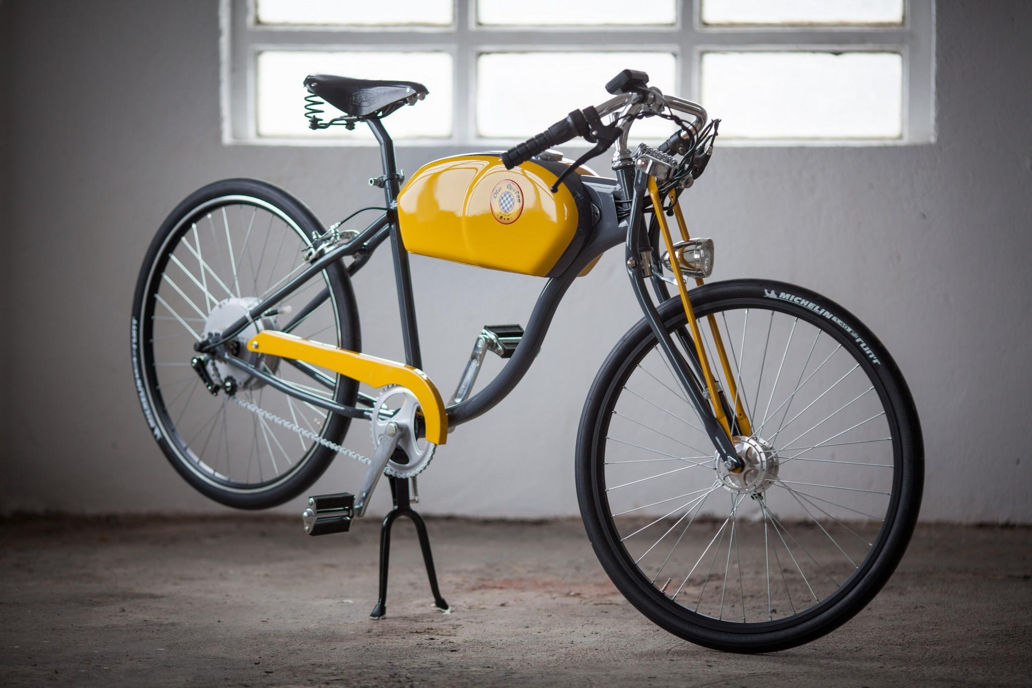 Oto Cycles Shows Otok The Vintage Looking Pedelec