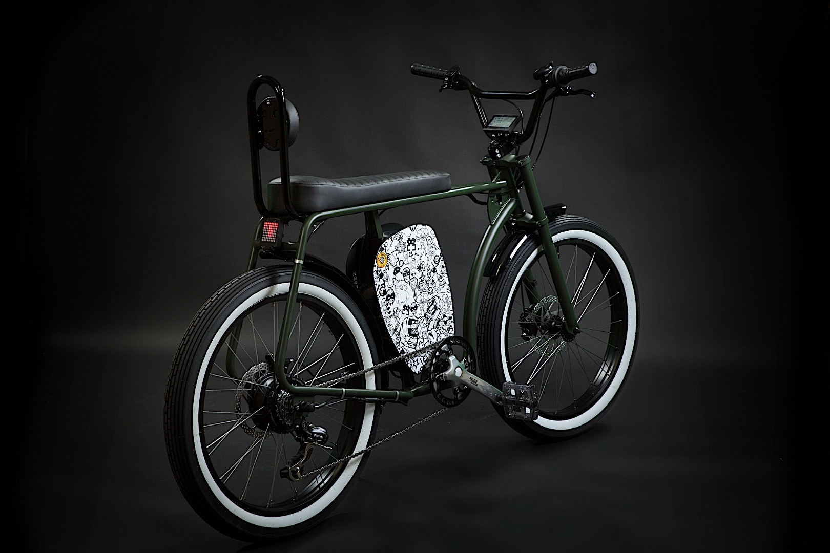 otocycles 39 new cross retro e bike makes you look cool if. Black Bedroom Furniture Sets. Home Design Ideas