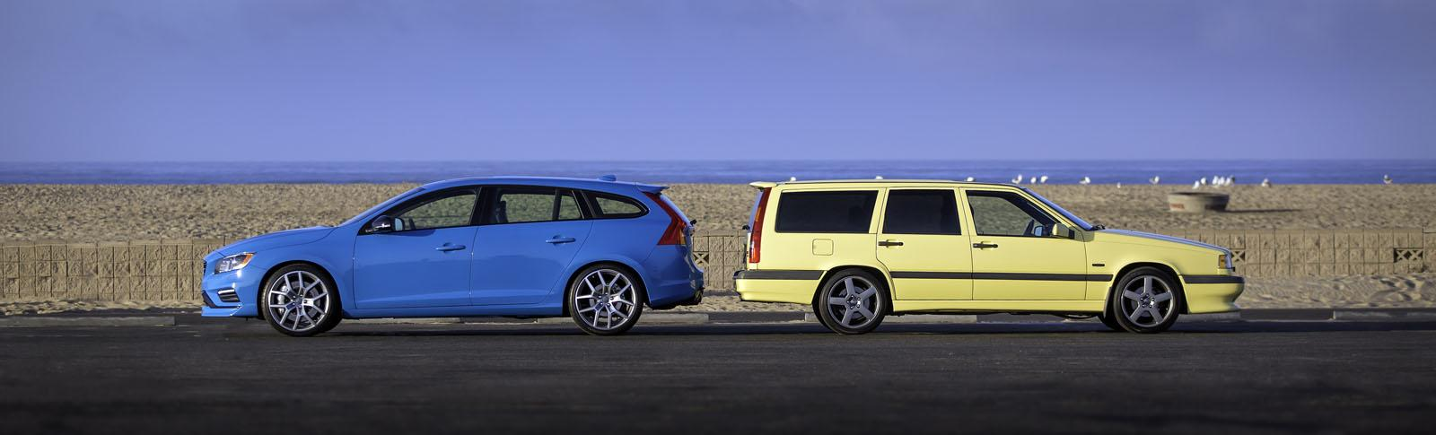 Volvo 855 T5-R Meets V60 Polestar - Out With the Old, In With the New - autoevolution