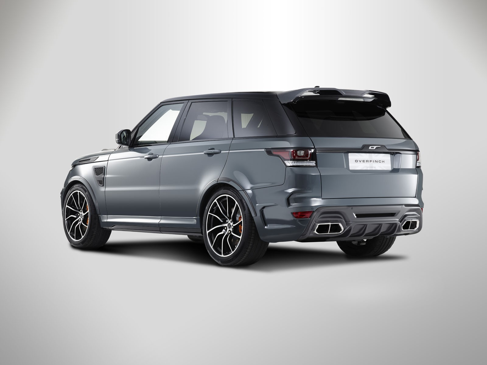 Used Range Rovers >> Overfinch Range Rover Sport Has Futuristic Body Kit and Carbon Fiber - autoevolution