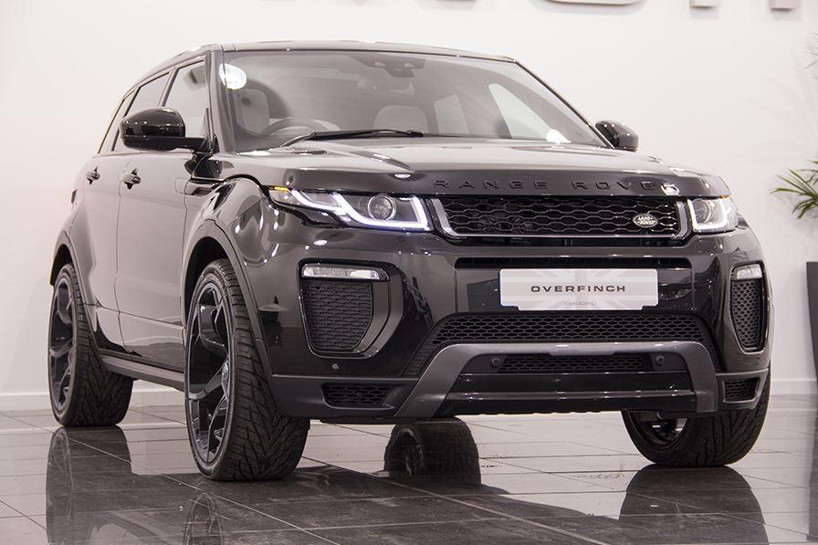 Overfinch Range Rover Evoque Looks The Part Autoevolution