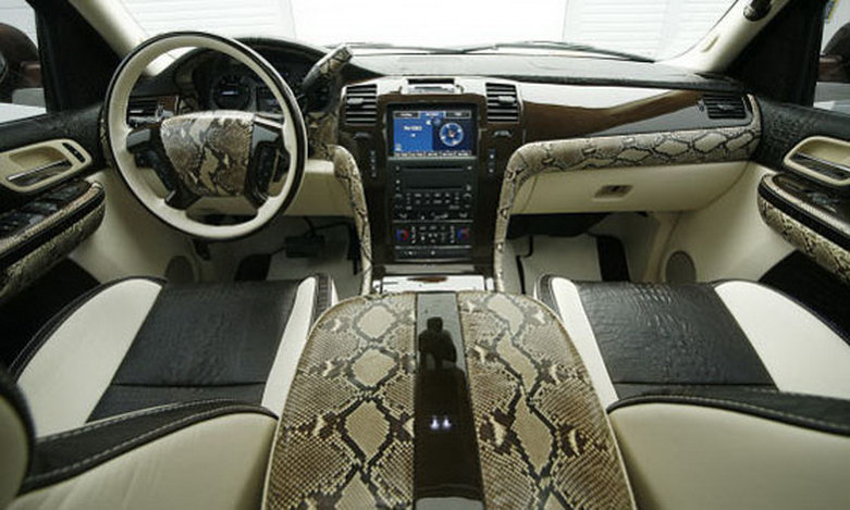 overkill fab design cadillac escalade autoevolution. Black Bedroom Furniture Sets. Home Design Ideas