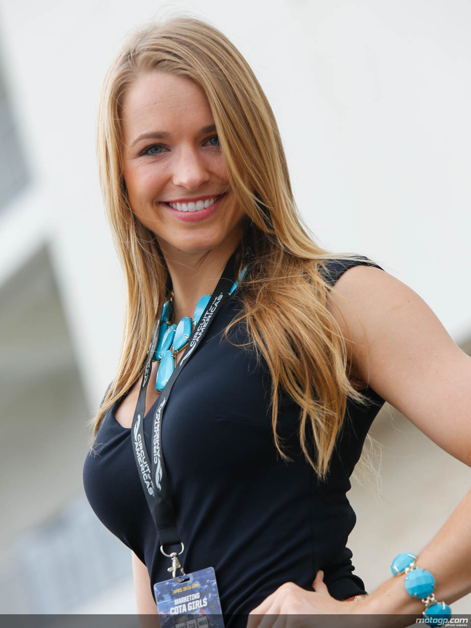 Paddock Girls At The 2014 Circuit Of The Americas