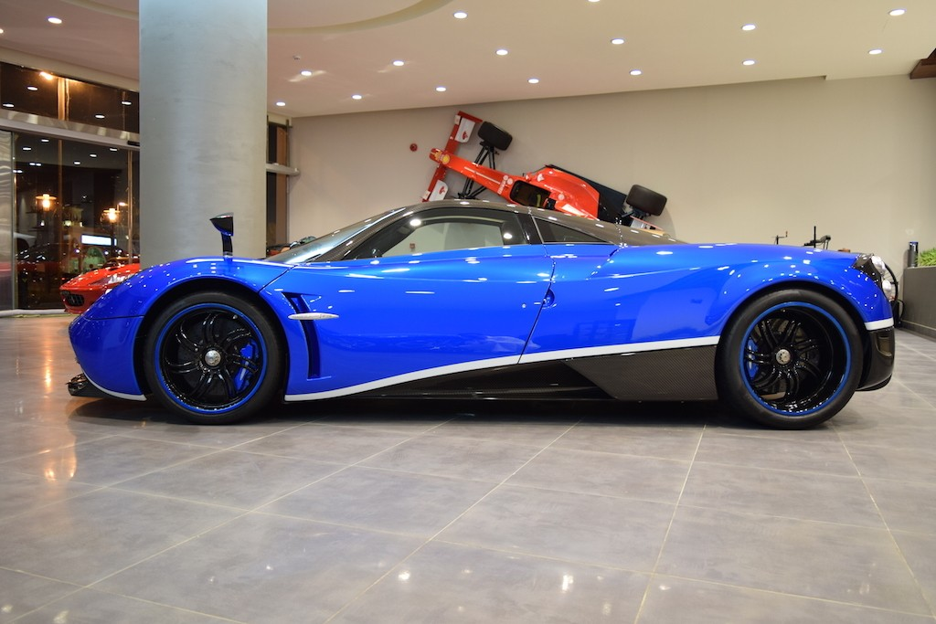 Pagani Huayra Chassis Number 001 Is Now For Sale