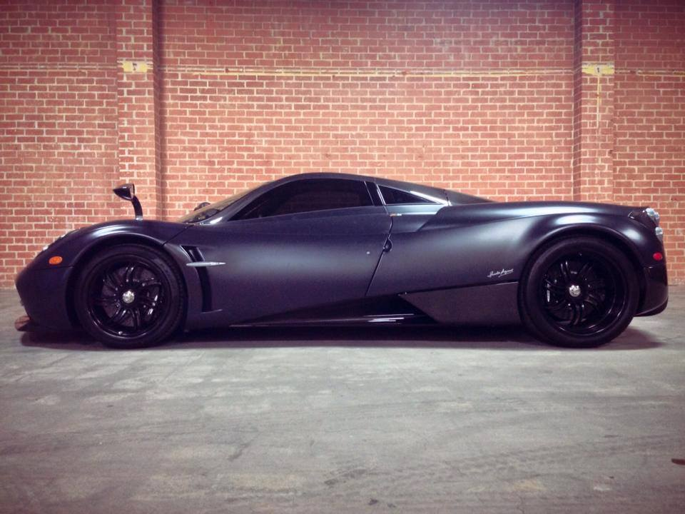 Pagani Huayra Gets Protective Film Wrap From Gi