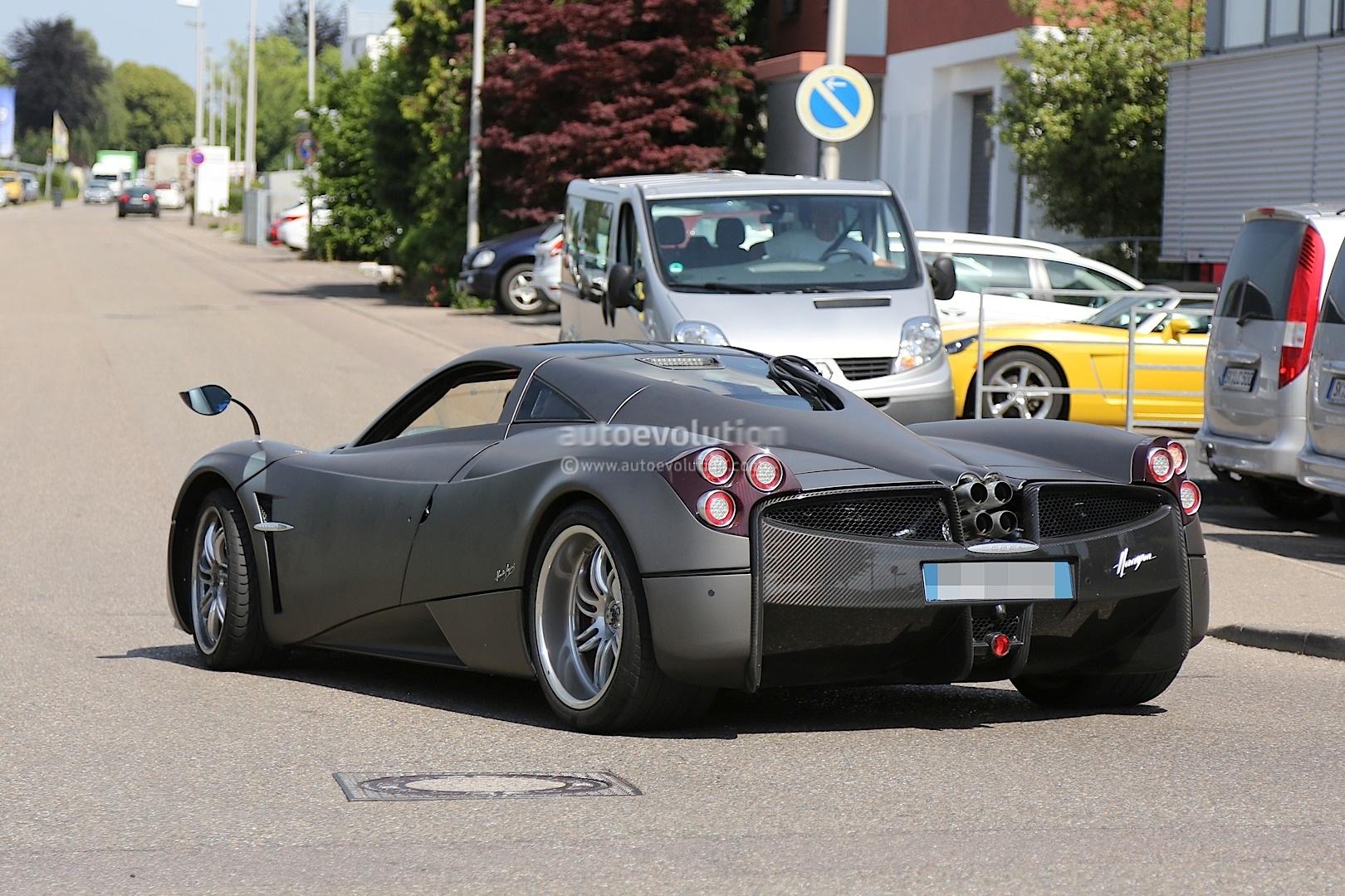 Pagani Huayra Nurburgring Edition Spied Testing More Powerful AMG ...