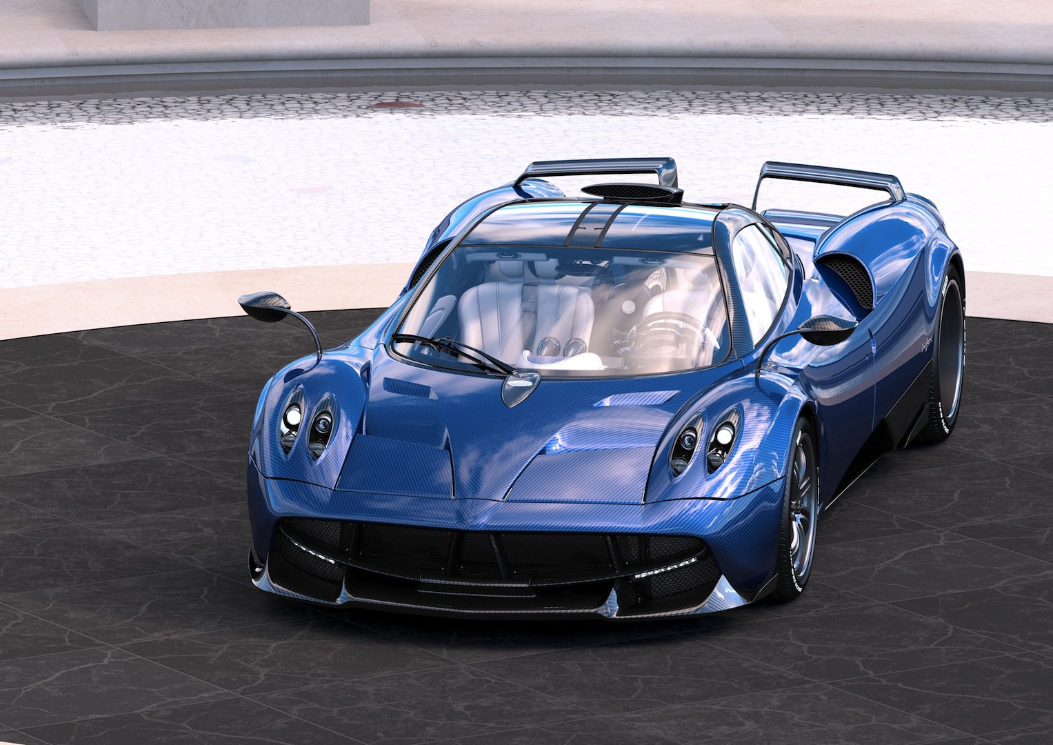 Pagani Huayra Pearl Is Bite The Back Of Your Hand