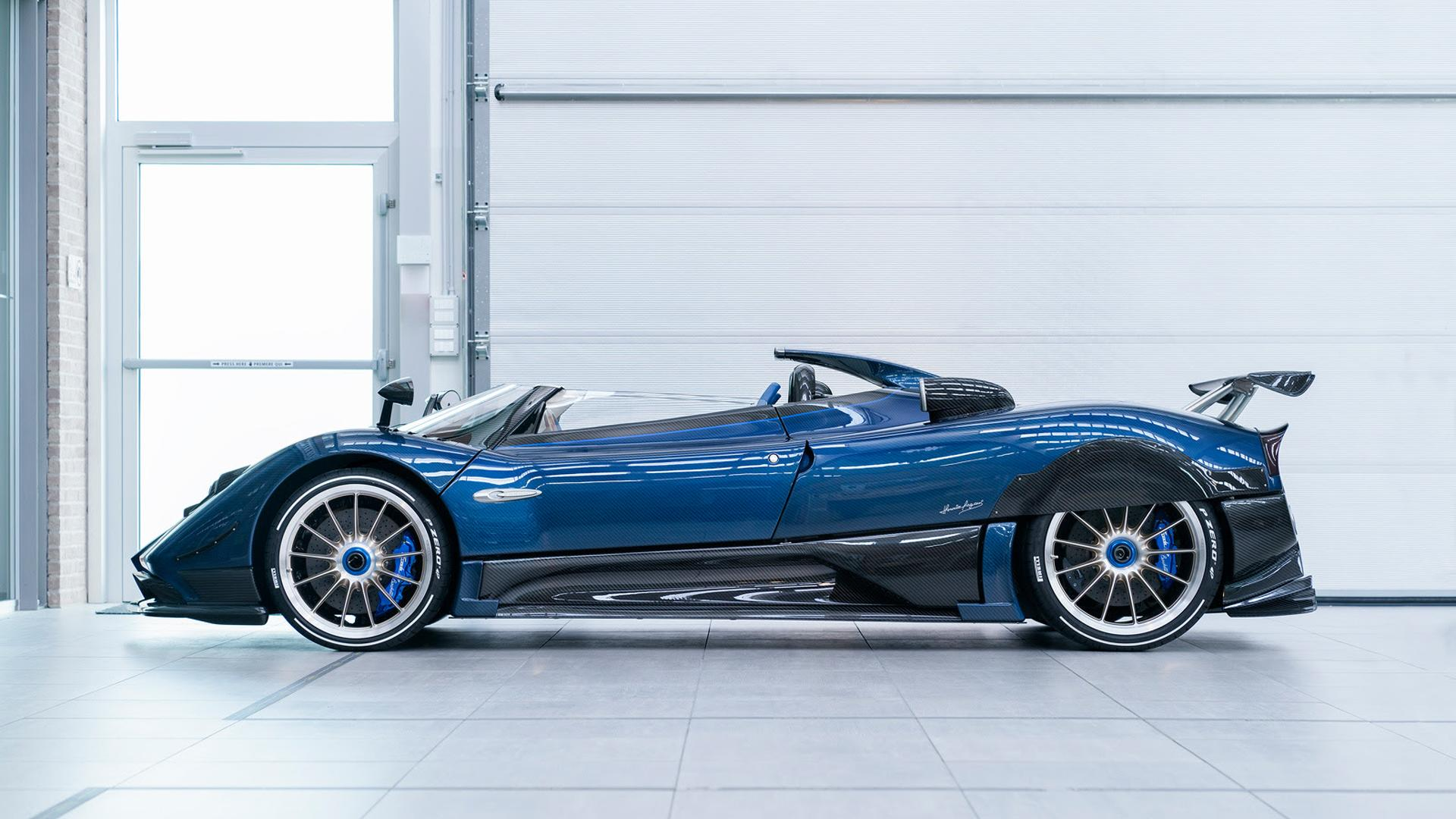 Horacio's Pagani Zonda HP Barchetta is Drop-Dead Gorgeous ...
